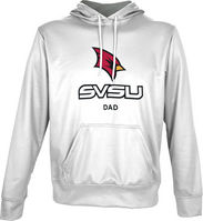 Spectrum Dad Unisex Distressed Pullover Hoodie