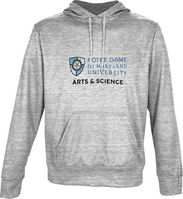 Spectrum Arts & Science Unisex Distressed Pullover Hoodie