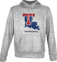 Spectrum Engineering Unisex Distressed Pullover Hoodie