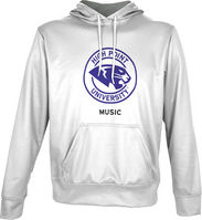 Spectrum Music Unisex Distressed Pullover Hoodie