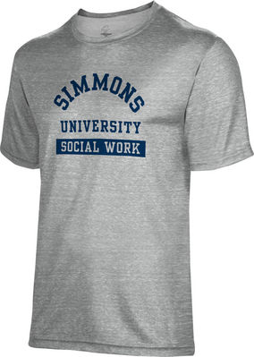 Spectrum Social Work Unisex 5050 Distressed Short Sleeve Tee
