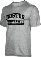 School of Hospitality Administration ProSphere Mens Tri Blend Tee