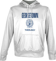 Spectrum Theology Unisex Distressed Pullover Hoodie