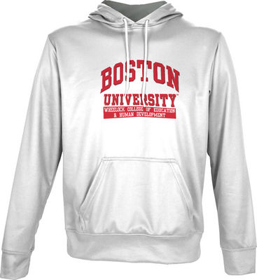 Wheelock College of Education & Human Development Spectrum Adult Pullover Hoodie