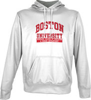 Spectrum  Wheelock College of Education & Human Development Unisex Distressed Pullover Hoodie