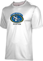 Spectrum Unisex Short Sleeve 5050 Distressed Tee   Aviation