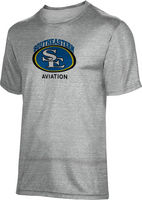 ProSphere Mens Tri Blend Distressed Tee   Aviation