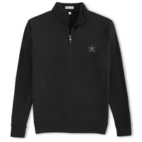Peter Millar Melange Fleece Quarter Zip Pullover