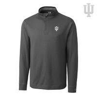 Cutter & Buck DryTec Long Sleeve Topspin Half Zip Knit (Online Only)