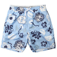 Wes & Willy Mens Floral Printed Volley Swim Trunk