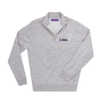 The Collection at LSU Merino Wind Block Quarter Zip