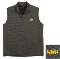 Oxford America Duval Quilted Quarter Zip Vest