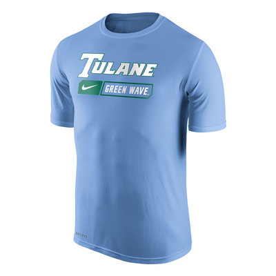 the best attitude 98cf0 b9337 Nike Dri Fit Legend T Shirt   Official Tulane Green Wave ...