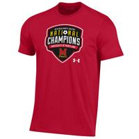 UA Mens Soccer National Champion Tee