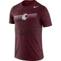 Nike College Dri Fit Legend Velocity Short Sleeve Tee