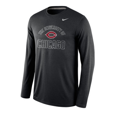 bea74402 Nike Dri Fit Legend Long Sleeve T Shirt | The University of Chicago  Bookstore