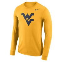 Nike Dri Fit Logo Long Sleeve Crew