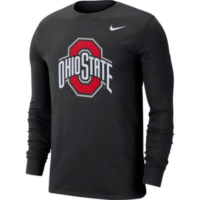 Nike College Dri FIT Long Sleeve Tee