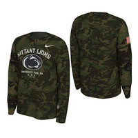 Nike College Football Legend Long Sleeve Tee Veterans Day
