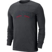 Nike College DriFIT Long Sleeve Tee