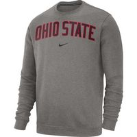 Nike College Club Fleece Long Sleeve Crew Tee