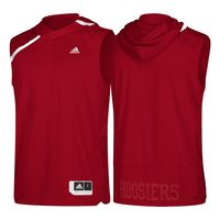 Adidas Sleeveless Hooded Warm Up