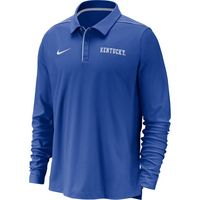 Nike College Dri FIT Long Sleeve Polo