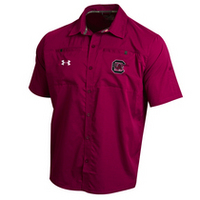 Under Armour Sideline Contender Full Button Shirt