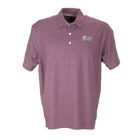 Vansport Mens Pro Tonal Micro Stripe Polo