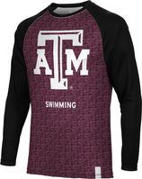 Swimming Spectrum Sublimated Long Sleeve Tee (Online Only)