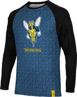 Swimming Spectrum Sublimated Long Sleeve Tee