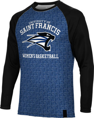 Womens Basketball Spectrum Sublimated Long Sleeve Tee