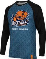Womens Swimming Spectrum Sublimated Long Sleeve Tee
