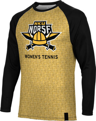 Womens Tennis Spectrum Sublimated Long Sleeve Tee