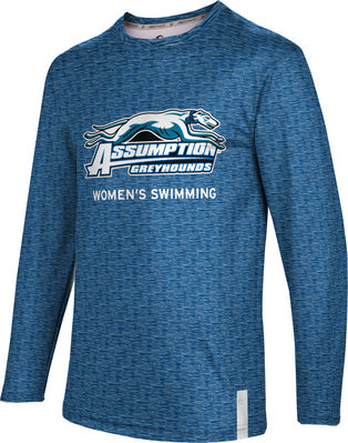 Womens Swimming ProSphere Sublimated Long Sleeve Tee