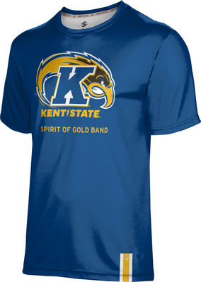 Prosphere Mens Sublimated Tee Spirit of Gold Band