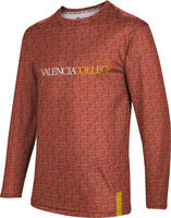 Valencia College Mens ProSphere Sublimated Long Sleeve Tee