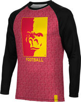 Football Spectrum Sublimated Long Sleeve Tee (Online Only)