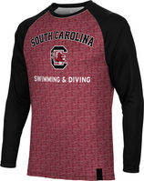 Swimming & Diving Spectrum Sublimated Long Sleeve Tee (Online Only)