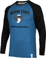 Womens Basketball Spectrum Sublimated Long Sleeve Tee (Online Only)