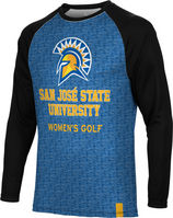 Womens Golf Spectrum Sublimated Long Sleeve Tee (Online Only)