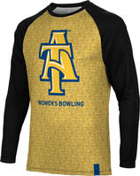 Womens Bowling Spectrum Sublimated Long Sleeve Tee (Online Only)
