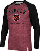 Womens Soccer Spectrum Sublimated Long Sleeve Tee (Online Only)