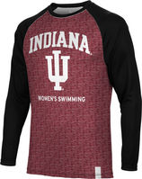 Womens Swimming Spectrum Sublimated Long Sleeve Tee (Online Only)