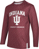 Womens Swimming ProSphere Sublimated Long Sleeve Tee (Online Only)
