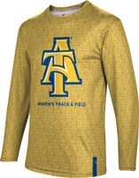 Womens Track & Field ProSphere Sublimated Long Sleeve Tee (Online Only)