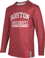 Womens Swimming & Diving ProSphere Mens Sublimated Long Sleeve Tee (Online Only)