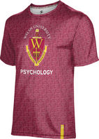 Prosphere Mens Sublimated Tee  Psychology (Online Only)