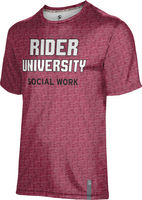 Prosphere Mens Sublimated Tee  School of Social Work (Online Only)