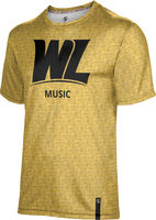 Prosphere Mens Sublimated Tee  Music (Online Only)